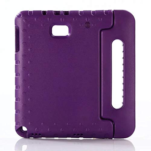 RZL Pad y Tab Fundas para Samsung Tab A 6 A6 10.1 SM-P580 P585, Cubierta de Tableta EVA Segura para niños para niños para Samsung Galaxy P580 P585 (Color : Purple)