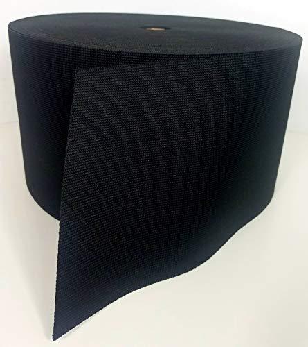 1 Yard - MIL SPEC 6' Elastic Webbing/MOLLE Webbing - Black