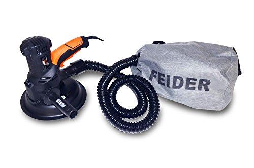 Feider FPEP710-3 - Lijadora de pared (710 W 230 V) color negro metalizado