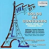 Solos De Concours by Debussy