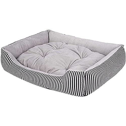 jiabushu shop Home Textiles, Fashion Dog Bed Kennel Small Cat Pet Puppy Round Bed House Soft Warm Pad St. Patrick's Day, Easter, Ramadan Onsale