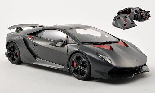 Lamborghini Sesto Elemento, met.-matt-grau , 2010, Modellauto, Fertigmodell, AUTOart 1:18