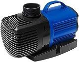 angelHJQ Bomba de Fuente Bomba de Agua Sumergible y Desmontable Ultra Silenciosa Fuente de Tanque de Acuario de Estanque de Peces,RS9000L