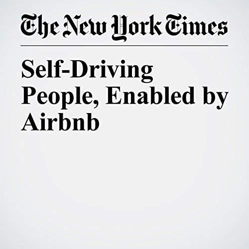 Self-Driving People, Enabled by Airbnb copertina
