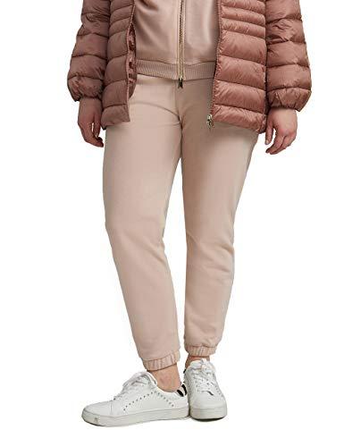 Fiorella Rubino : Pantaloni Joggers in Felpa Rosa XS Donna (Plus Size)