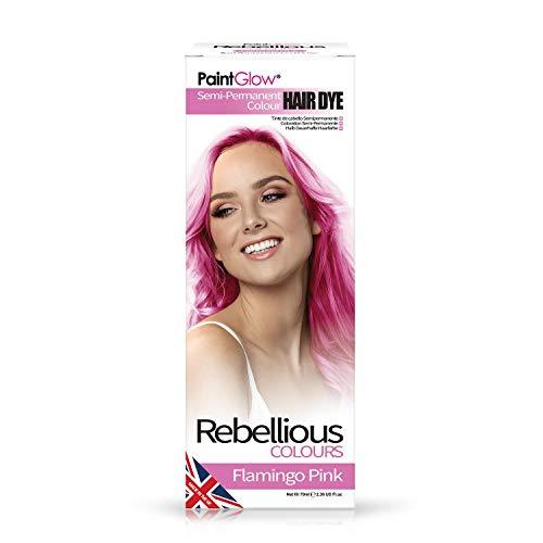 Paintglow - Rebellious Colours - Tinte de Pelo Semi-Permanente 70 ml (Flamingo...