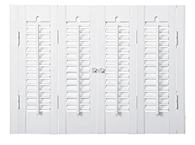 "Interior Shutter Kits 1 1/4"" Louver, Bass Wood"