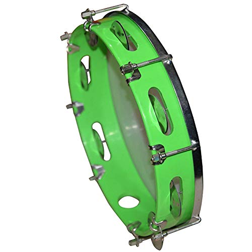 HRB MUSICALS Tambourine Hand Percussion Musical Instrument (DAFLI)