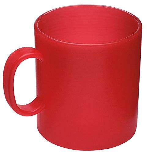 Westmark Kunststoff-Tasse Becher Camping-Geschirr 1 Stück , farblich sortiert