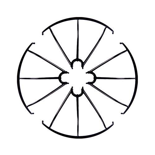 DronePost Anillo de Protección SYMA X5 X5C X5SC X5SCW Color Negro Drone Protector 4 und (pr_052|Negro|Syma X5)