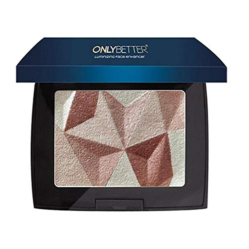 Kybbe Eye Shadow Multi-fonction Nouveau 3 Couleurs Diamant Brillant Contour Blush Maquillage Plateau Facile à Colorer