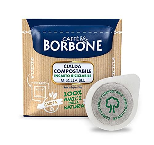 Caffè Borbone Cialda Compostabile, Miscela Blu - 150 Cialde - Sistema ESE