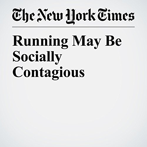 Running May Be Socially Contagious copertina