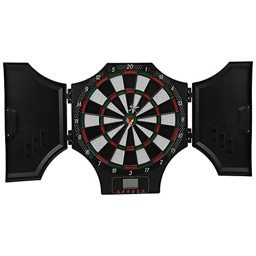 Zerone Accesorio para Target Game, Control de Volumen de 8 Niveles Pantalla LCD Tablero de Dardos electrónico Fácil de Usar con Consejos para Fiestas