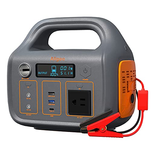 Aligoo 266Wh 300W 72000mAh Portable Power Station $209.49