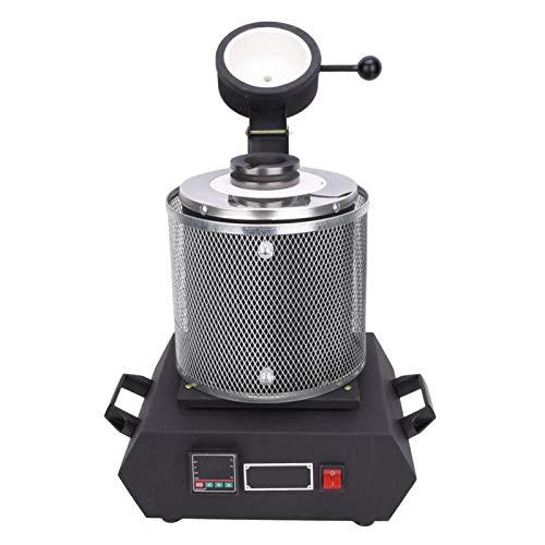Goldschmelzofen, Propan-Ofen, Schmuckbearbeitungswerkzeuge, 2 kg, CNC-Schmelzofen zum Verfeinern von Schmuck (britischer Standard 220 V)