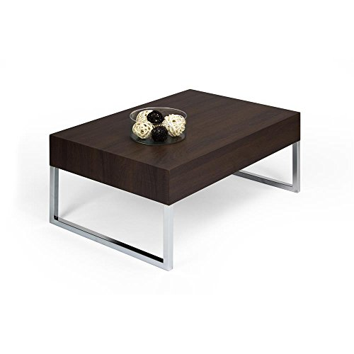 Mobili Fiver Tisch Couchtisch Dunkel Eiche mod. EVO XL