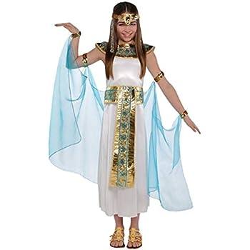 Disfraz de Cleopatra para niñas en varias tallas: Amazon.es ...