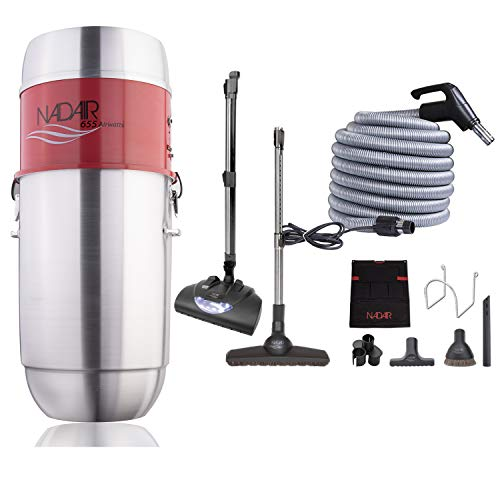 Lowest Prices! Nadair 655 AW Light Commercial Central Vacuum System, Hybrid Filtration (with or With...