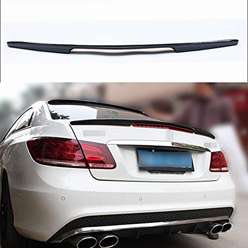 GOUC Amg Style Real Carbon Fiber Car Rear Spoiler Tailgate Spoiler Rear Tail Trunk Windshield Wing Lip For Mercedes B-ENZ E Class W207 C207 2010-2016 2-Door Coupe Convertible