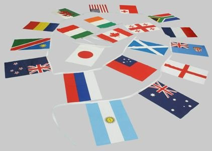 De specialist Vlag Winkel 15m 20 vlag 18x12 Verschillende Wereld Bunting