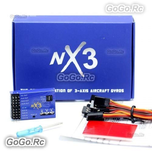 GoGoRc NX3 3D Flight Controller Gyroscope Balance for RC Plane Fixed-Wing Aircraft