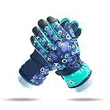 FitTrek Handschuhe Kinder 6-13 Jahre - Skihandschuhe Jungen Mädchen - wasserdichte Kinderhandschuhe - Kinder Schneehandschuhe
