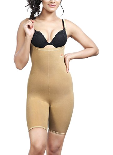 Adorna Body Bracer Women's Shapewear (Beige, Medium- 80-85 cms)