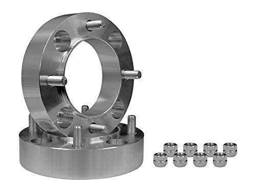 SuperATV Heavy Duty 1.5' Aluminum Wheel Spacers for Can-Am (Select Models) - 4/137 mm bolt pattern (1 Pair)