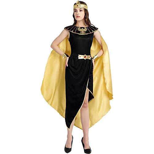 thematys® Disfraz de Cleopatra Egipto para Mujer Cosplay, Carnaval y Halloween - Talla única 160-180cm