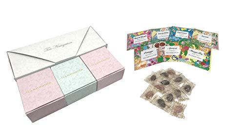 TEA NAVIGATIONプレミアム紅茶アソート7種22包入り3種チョコセット バレンタイン ホワイトデー プレゼント