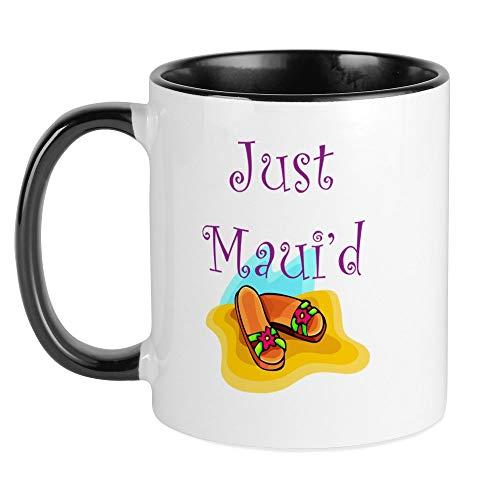 CafePress - Just Maui'd Flip Flops Tasse - Einzigartige Kaffeetasse, Kaffeetasse, Teetasse