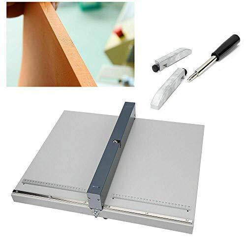 Aohuada A3 Papier Scoring Nutmaschine Arbeitsbreite Rillmaschine Creasing Machine 455mm Schnelle Papier Faltende Maschin Abflachung Stahl Manuelle flache Gerät