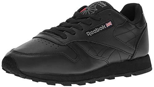 Reebok Classic Leather, Scarpe da Ginnastica Uomo, Nero (Black/Gum), 44.5