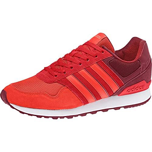 adidas 10K, Scarpe Running Uomo, Rosso (Cburgu/Corred/Solred 000), 39 1/3 EU