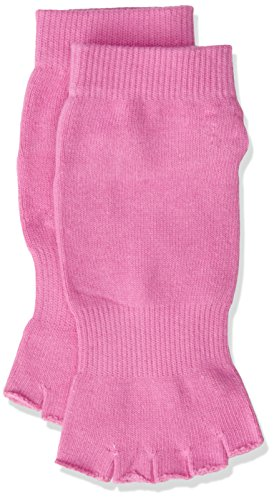 PhysioWorld Half Toe Socks - Pink - Medium