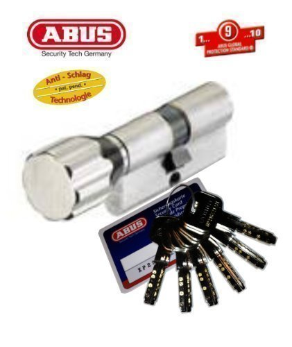 ABUS XP2S Profil-Knaufzylinder Länge Z35/K35mm mit 6 Schlüssel