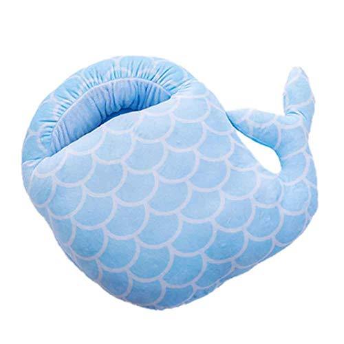 Mehrzweck-waschbarer Winterplüschpantoffel USB-Aufladungsheizung Fußwärmer für Haus und Büro #Blaufisch
