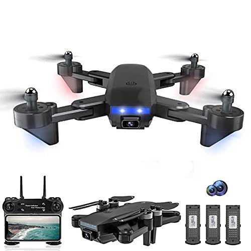 LYHY Mini Drone con Fotocamera 4K UHD, 22 Minuti Tempo di Volo WiFi FPV Droni Quadricottero con Motore Brushless Gamma di Controllo 1000m