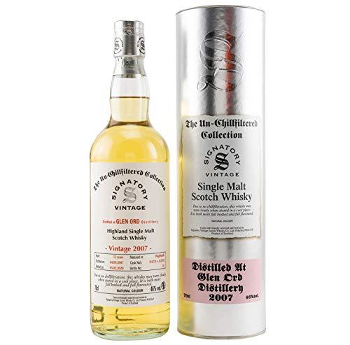 GLEN ORD 2007-12 Jahre - Signatory Vintage Single Malt Scotch Whisky (1x0,7l)