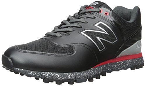 New Balance Men's nbg574b-m, Black/Red, 9.5 D US