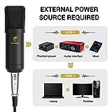 Zoom IMG-1 microfono a condensatore xlr tonor