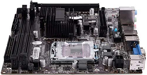 DIANLU31 G41 771/775 Pin PRÁCTICA COMPUTADOR DE MAPORTE DE DESPIRMA DE MENAPIA para XEON 771 Pin/Core 775 Pin CPU con SATA 2 USB 2.0 DDR3 1333 Placa Base de Doble Canal para la computadora Intel REN