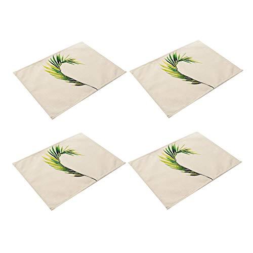 Manteles Individuales Tapetes para Mesa La Cena de Jardín manteles Fuera de la Mesa esteras Mesa de jardín de Place Mat Gran Mesa esteras 42X32,M5