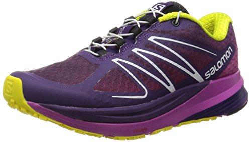 SALOMON Sense Propulse Running Shoe - Women's Cosmic Purple/Azalee Pink/Corona Yellow 9.5