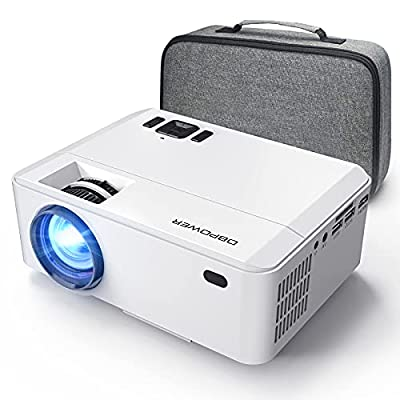 Amazon - 50% Off on Mini Projector Portable Video Projector with Carrying Case