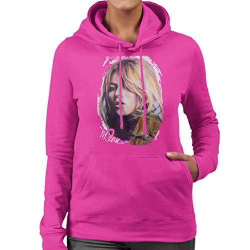 VINTRO Kate Moss legerjas vrouwen T-shirt oorspronkelijke portret van Sidney Maurer