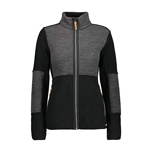 CMP Arctic Fleece Jacke mit Wolldetails XL Schwarz