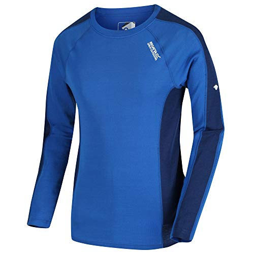 Regatta Men's Beru Merino wol Super zachte geur controlerende lange mouwen Wicking Base Layer Top Base Layer