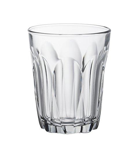 Duralex 510430B34 Provence Trinkglas, Wasserglas, Saftglas, 160ml, Glas, transparent, 6 Stück
